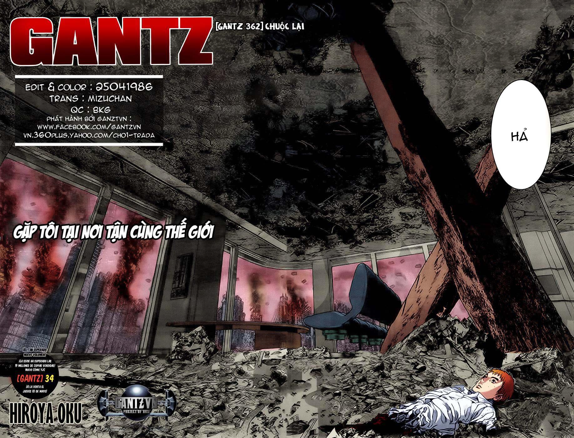 Gantz chap 362 Trang 5 - Mangak.info