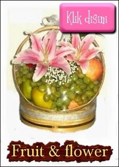 parcel buah bunga