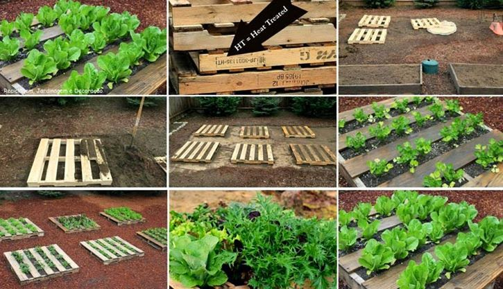Jardin con tarimas o palets paso a 725 417 - Jardines con palets ...
