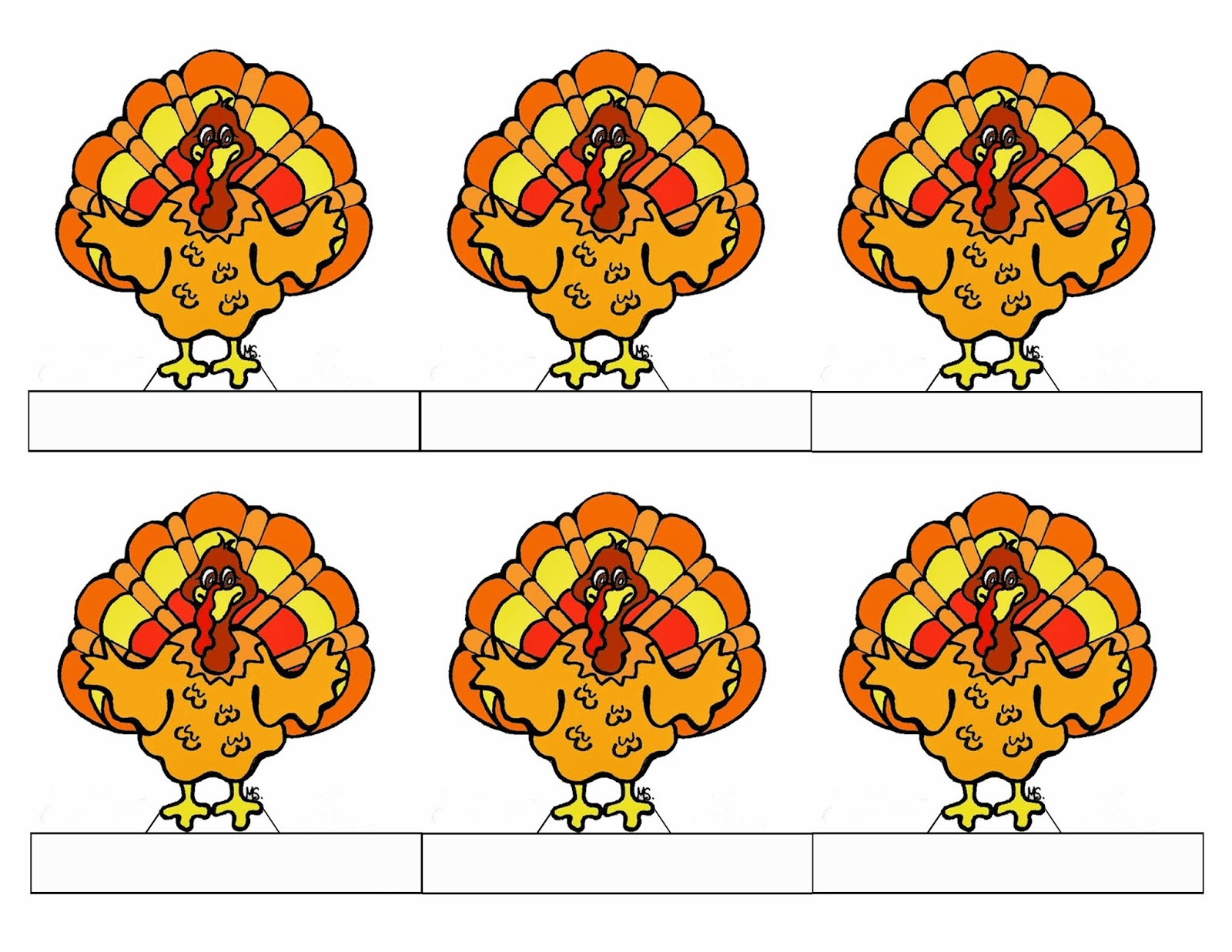 This is a photo of Epic Turkey Shoot Targets Printable