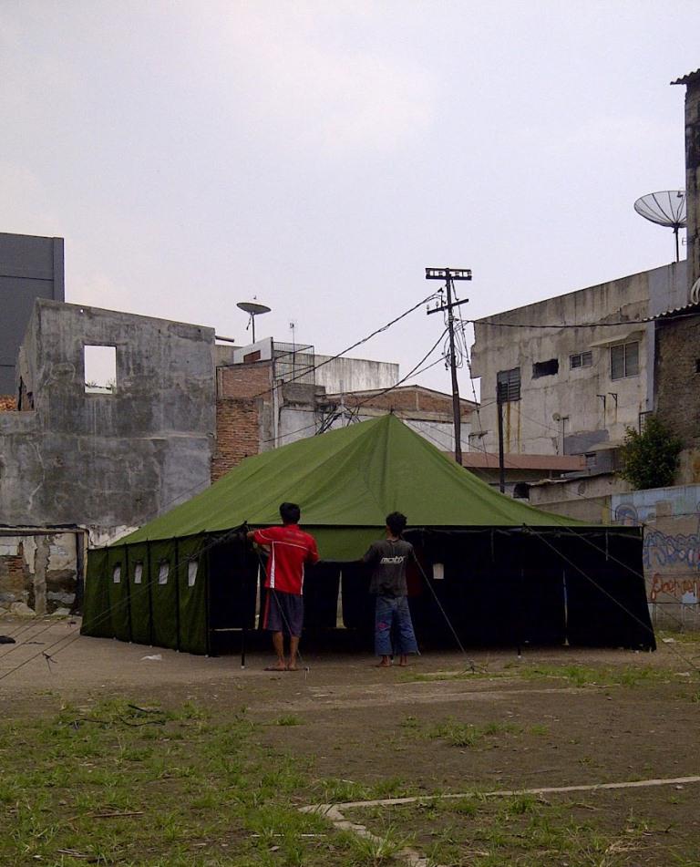 tenda tentara, jual tenda peleton, jual tenda siaga bencana