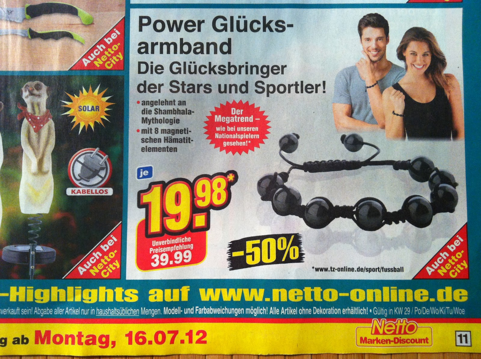 mike seine welt schnell zugreifen power gl cksbringer beim discounter. Black Bedroom Furniture Sets. Home Design Ideas