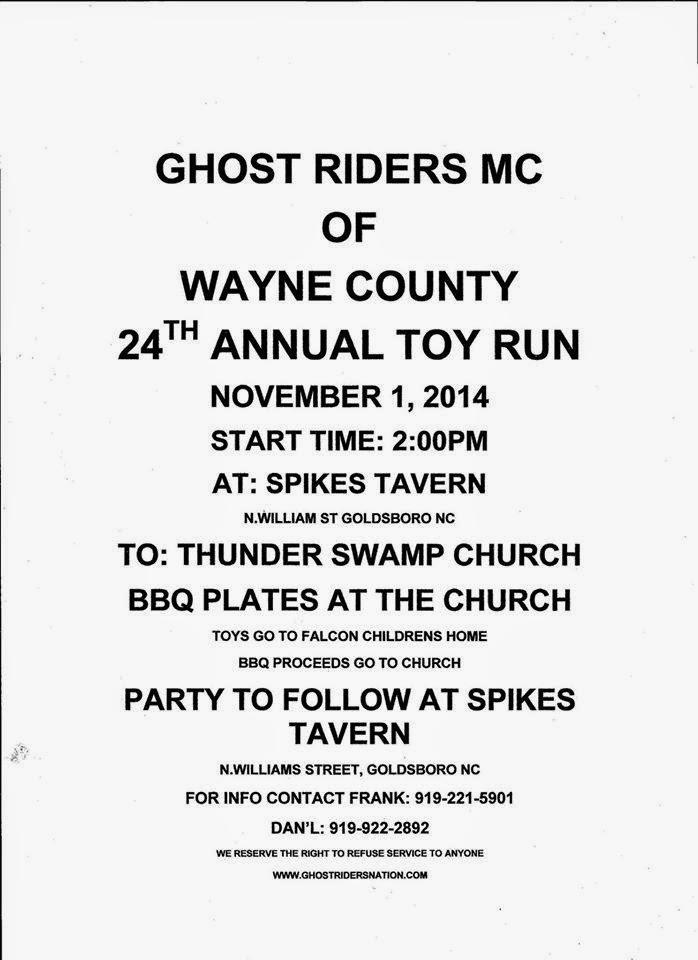 GRMC Wayne Toy Run