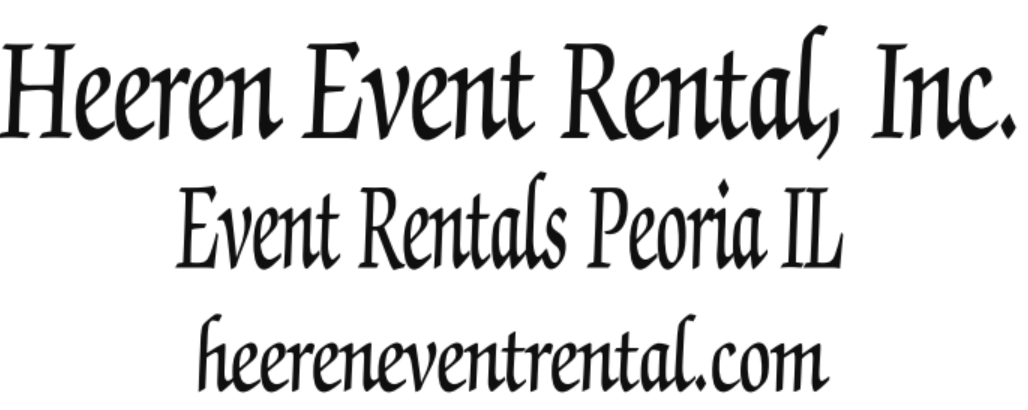 Wedding and Event Rentals in Peoria Illinois-chairs dance floor tents tables