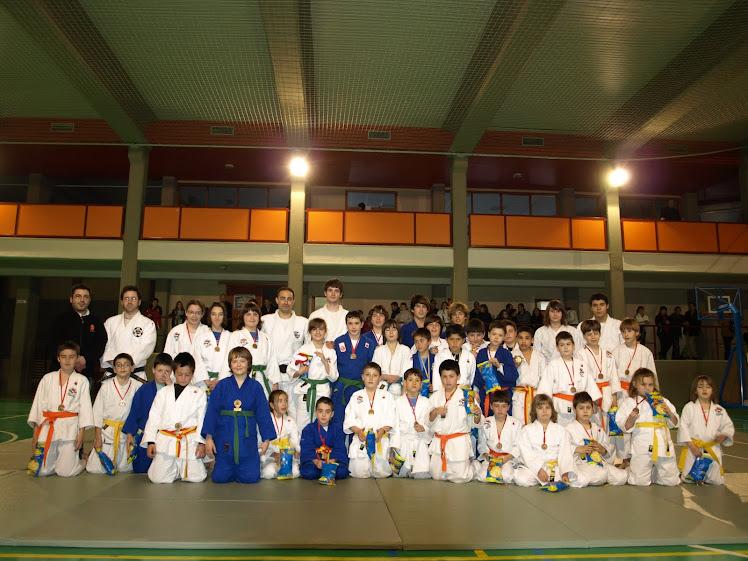 CAMPEONATO RIOJA BAJA DE JIU JITSU 2011 DUO KATA. INFANTILES