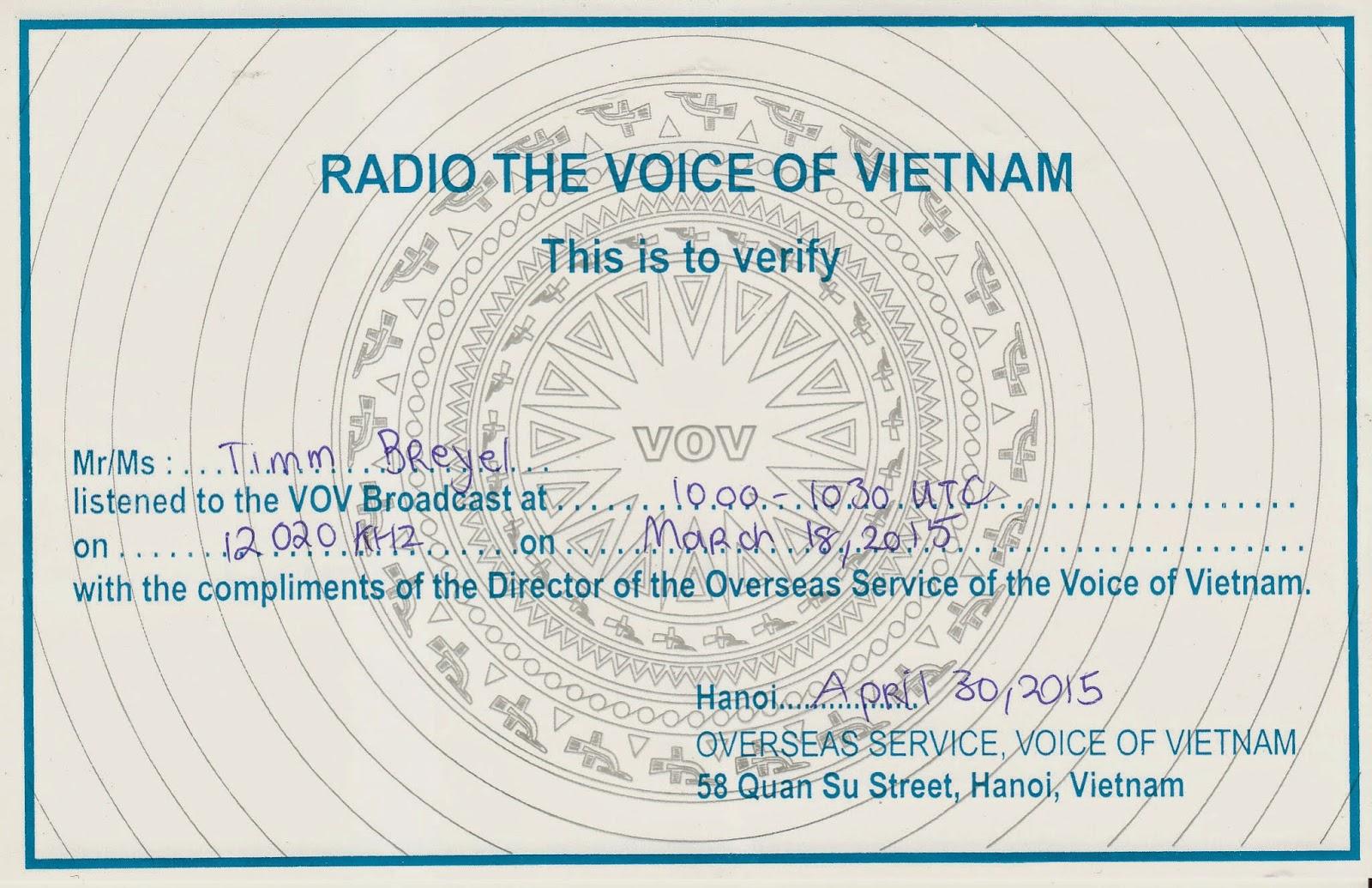 radio veritas vietnamese