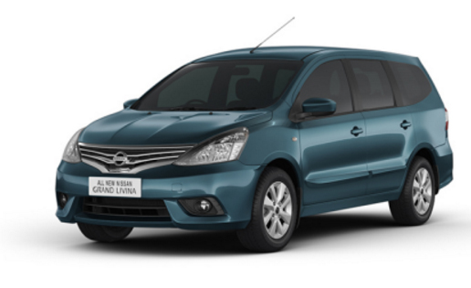 Grand Livina Blue - Nissan Mobil terbaik pilihan keluarga Indonesia