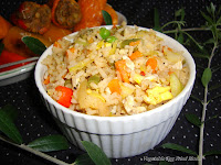 images for Vegetable Egg Fried Rice / Chinese Fried Rice / Chinese Egg Fried Rice Recipe