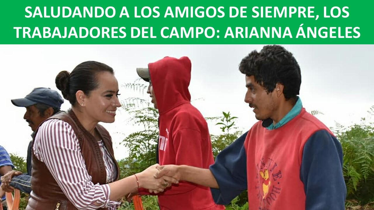 LOS TRABAJADORES DEL CAMPO: ARIANNA ÁNGELES
