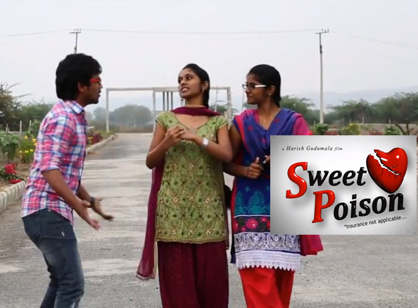 SWEET POISON SHORT FILM POSTER
