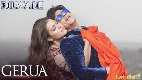 Shahrukh Khan dan Kajol - Gerua Dilwale