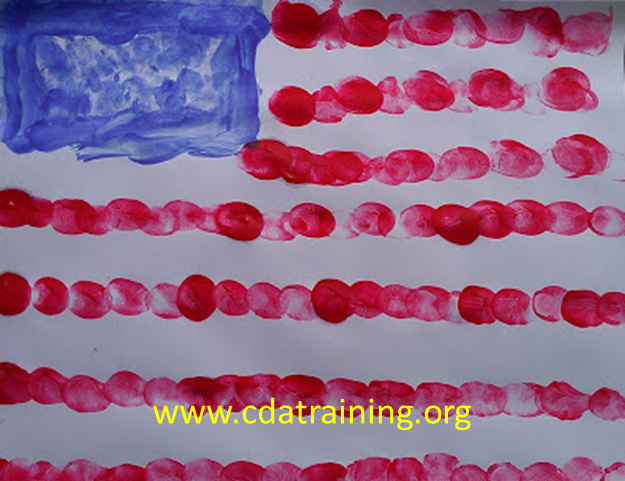 child care basics resource blog  fourth of july finger