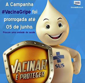 VACINAÇÃO CONTRA A GRIPE.