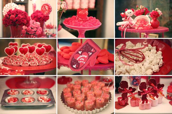 Chá de Cozinha: Decoração Vermelha e Rosa « Noiva Nova | Blog de