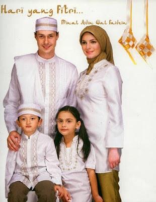 Model Busana Muslim Idul Fitri 2014