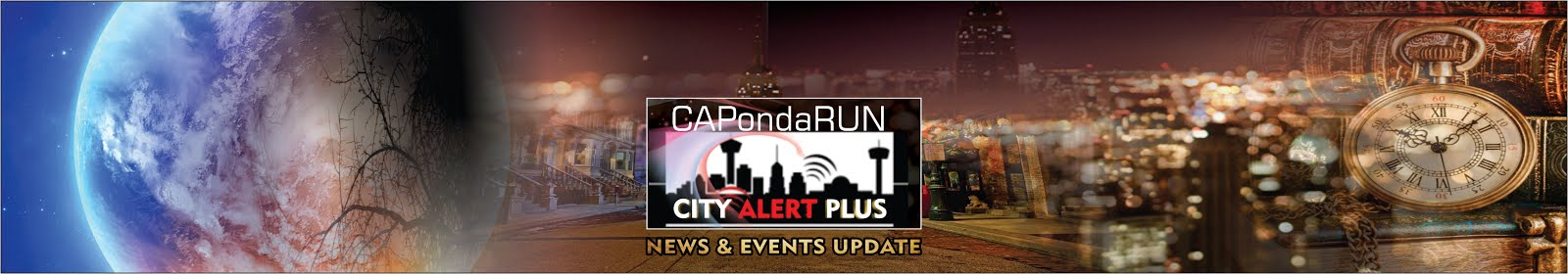 Welcome to City Alert Plus #CAPondaRUN