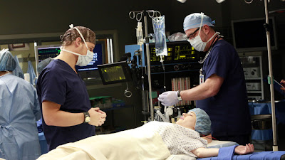 Grey's Anatomy S09E14. The Face of Change