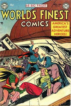 World's Finest 67 cover