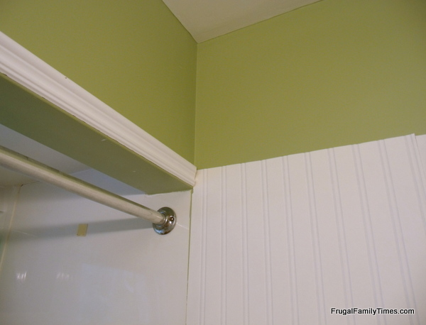 <b>Beadboard Wallpaper</b> in Masterbath - Southern Hospitality