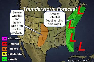 Inoffizielle Vorhersage potenzieller Tropischer Sturm RINA bei Florida und der der US-Ostküste, Rina, Florida, aktuell, Sturmflut Hochwasser Überschwemmung, USA, US-Ostküste Eastcoast, Atlantik, Vorhersage Forecast Prognose, Verlauf, Oktober, 2011, Hurrikansaison 2011,