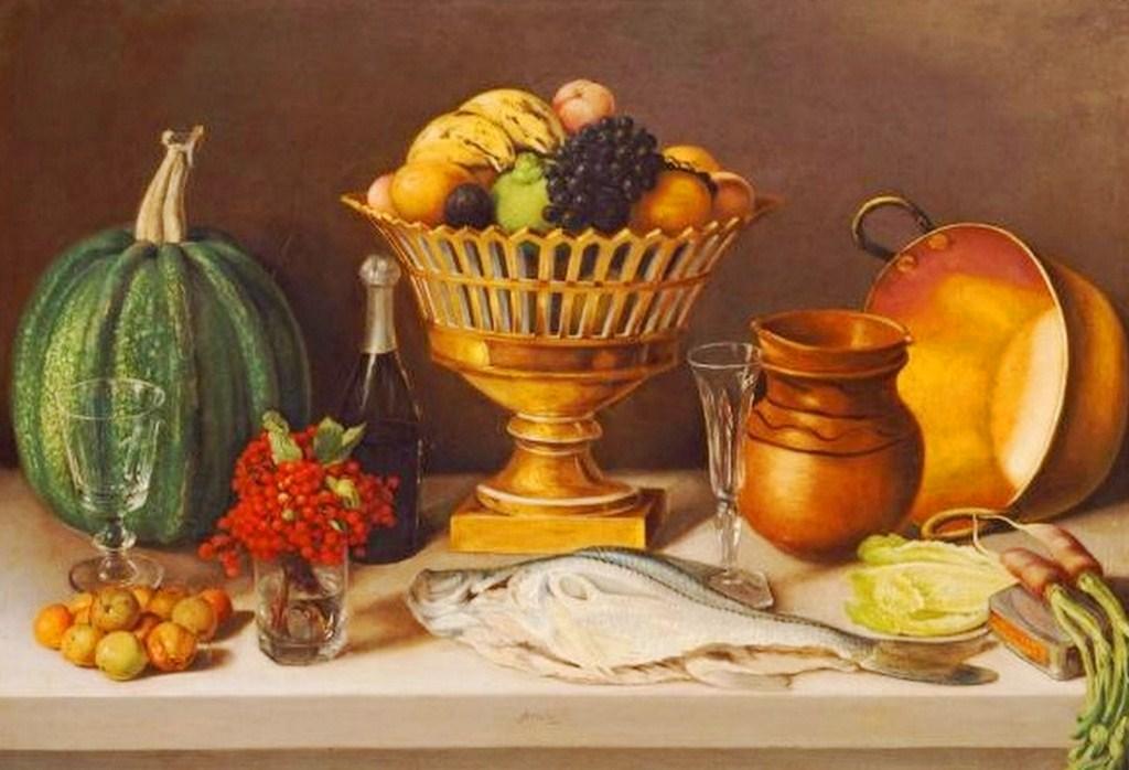 Im genes arte pinturas bodegon pintura mexicana for Pinturas bodegones modernos