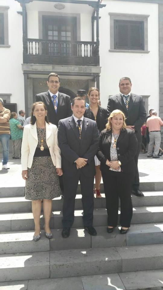 Grupo municipal de CC en el ayuntamiento de Santiago del Teide