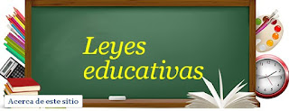 Leyes educativas