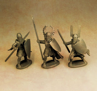 Fireforge Games Teutonic Infantry, Knights on foot