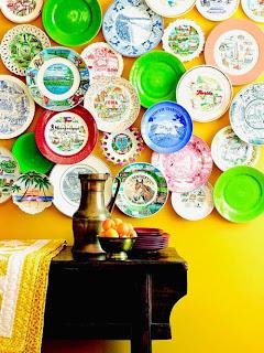 فكرة الصحون decorar-con-platos1.