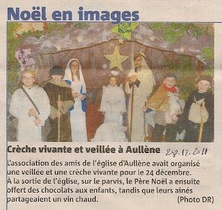 Noël 2011 Crèche Vivante