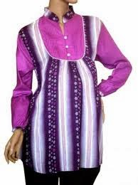 Model Baju Hamil Muslim Untuk Kerja 004