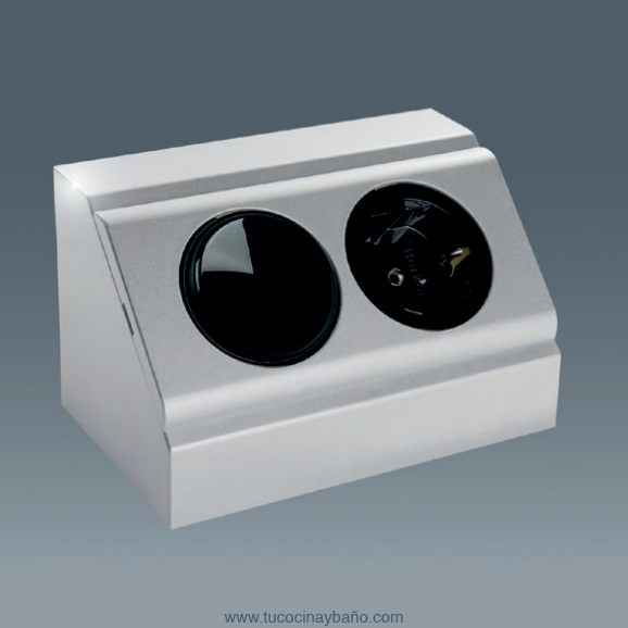 enchufe esquina interruptor cocina baño transformador