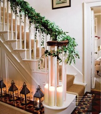 Rosely Pignataro Escadas Decoradas Para O Natal