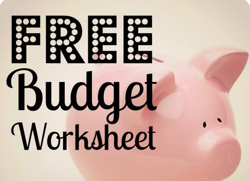 Home Finances FREE household budget template – Household Budget Template