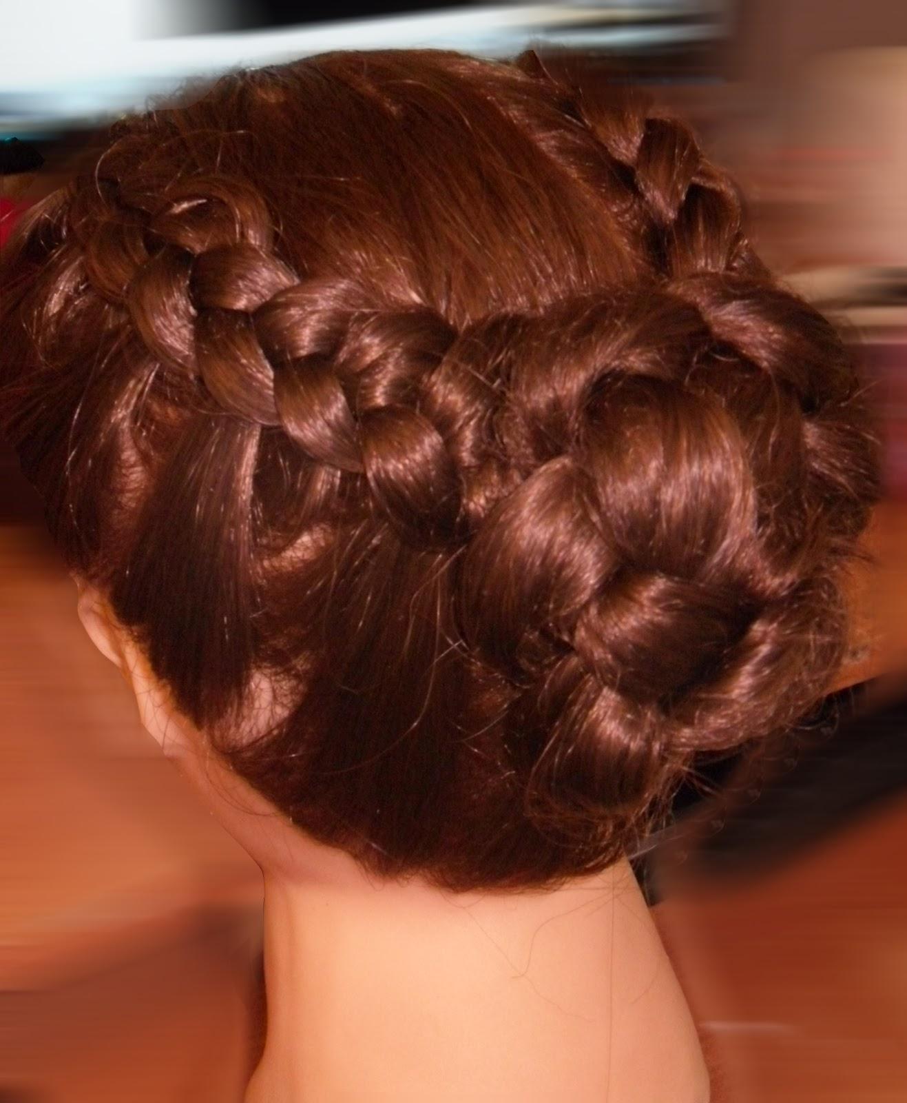 Причёски из трёх косичек