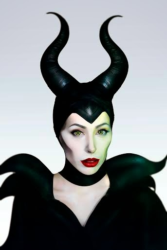 Easy Maleficent Makeup Transformation: Maleficent Makeup Tutorial
