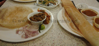 Chole Bature Vegetarian dishes restaurant at Exide Rabindra Sadan