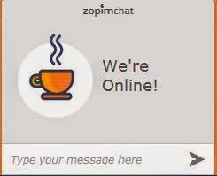 Phần mềm live chat zopim hỗ trợ trực tuyến khách hàng