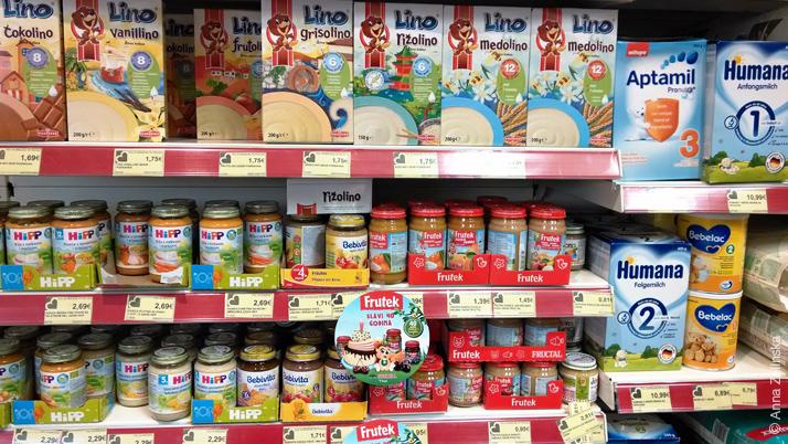 Детское питание в Черногории