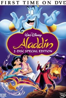 Aladdin 1992 DVD cover