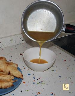 salsa agridulce de naranja