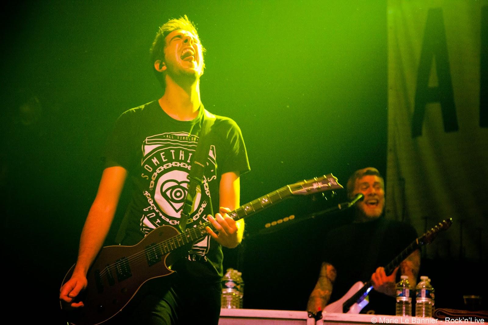 All Time Low Alex Gaskarth Jack Barakat Future Hearts Bataclan Paris Rock Pop Punk Rock'n'Live Marie Le Bannier Concert Live Report