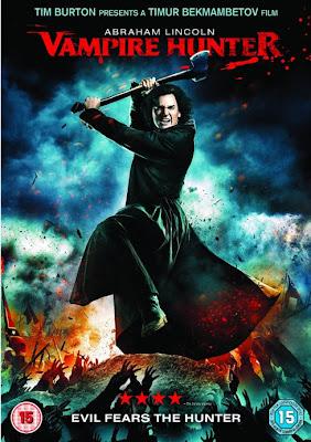 Filme Poster Abraham Lincoln – Caçador de Vampiros DVDRip XviD & RMVB Legendado