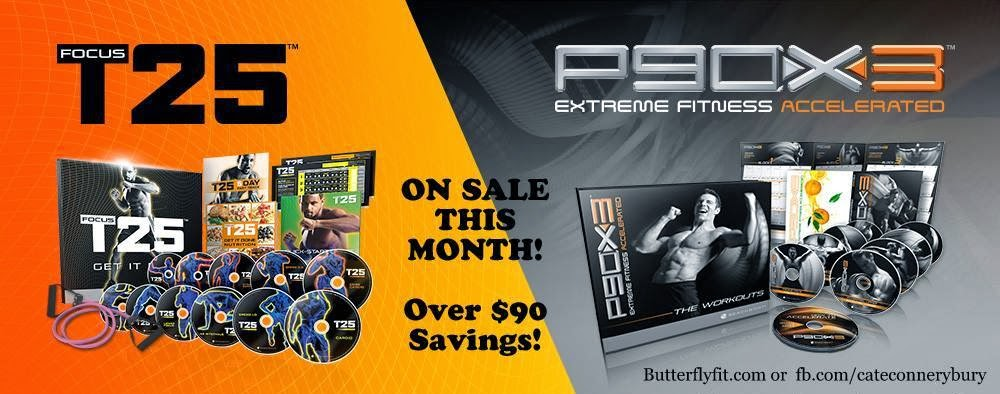 P90X3 and T25 on SALE, www.HealthyFitFocused.com