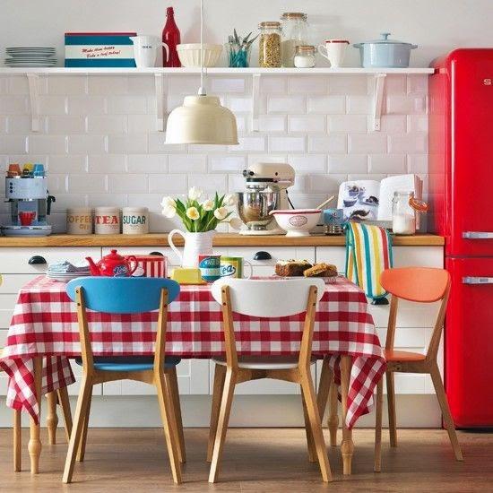 La Fabrique à Déco: Rétro : une cuisine tellement Sixties!