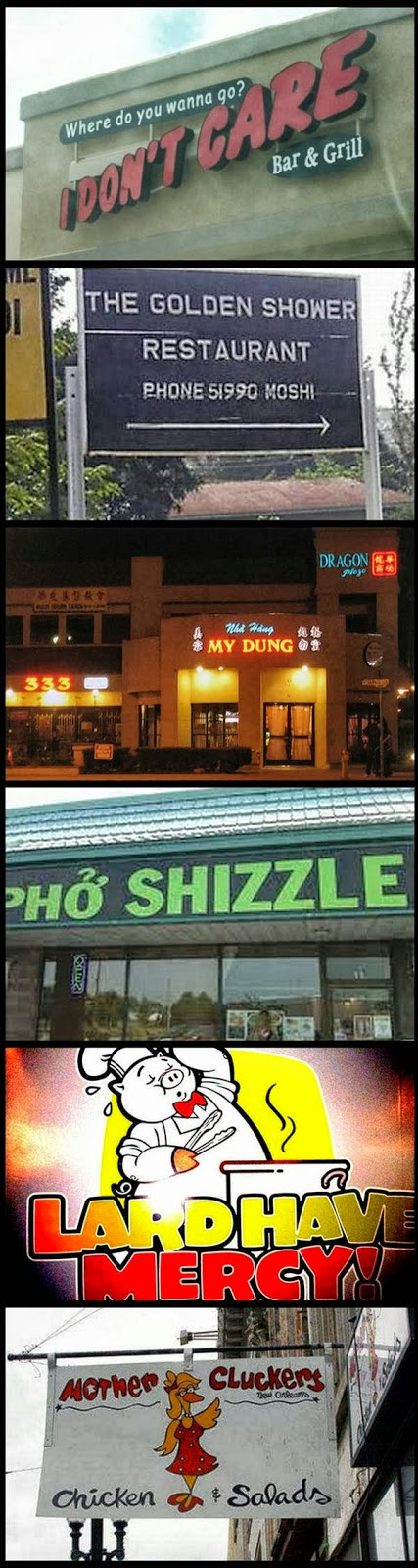 The Most Awesome Restoran Name