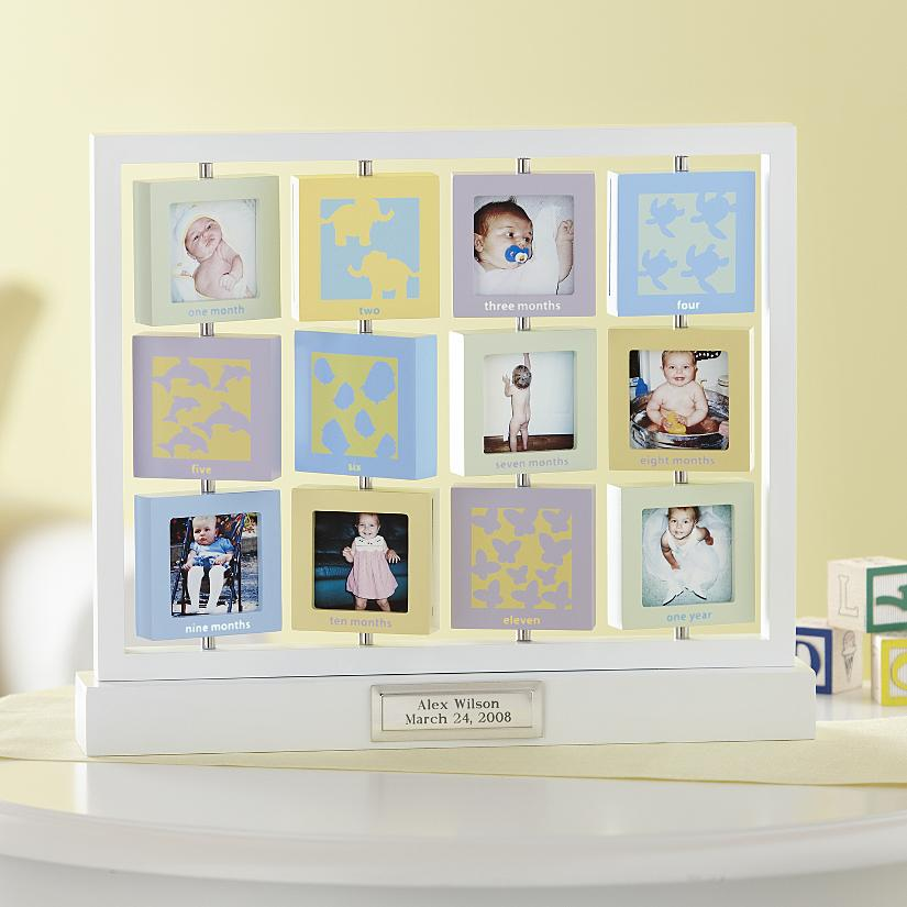 Baby\'s First Year Frame Birthday Gift - Best Gift Ideas Blog