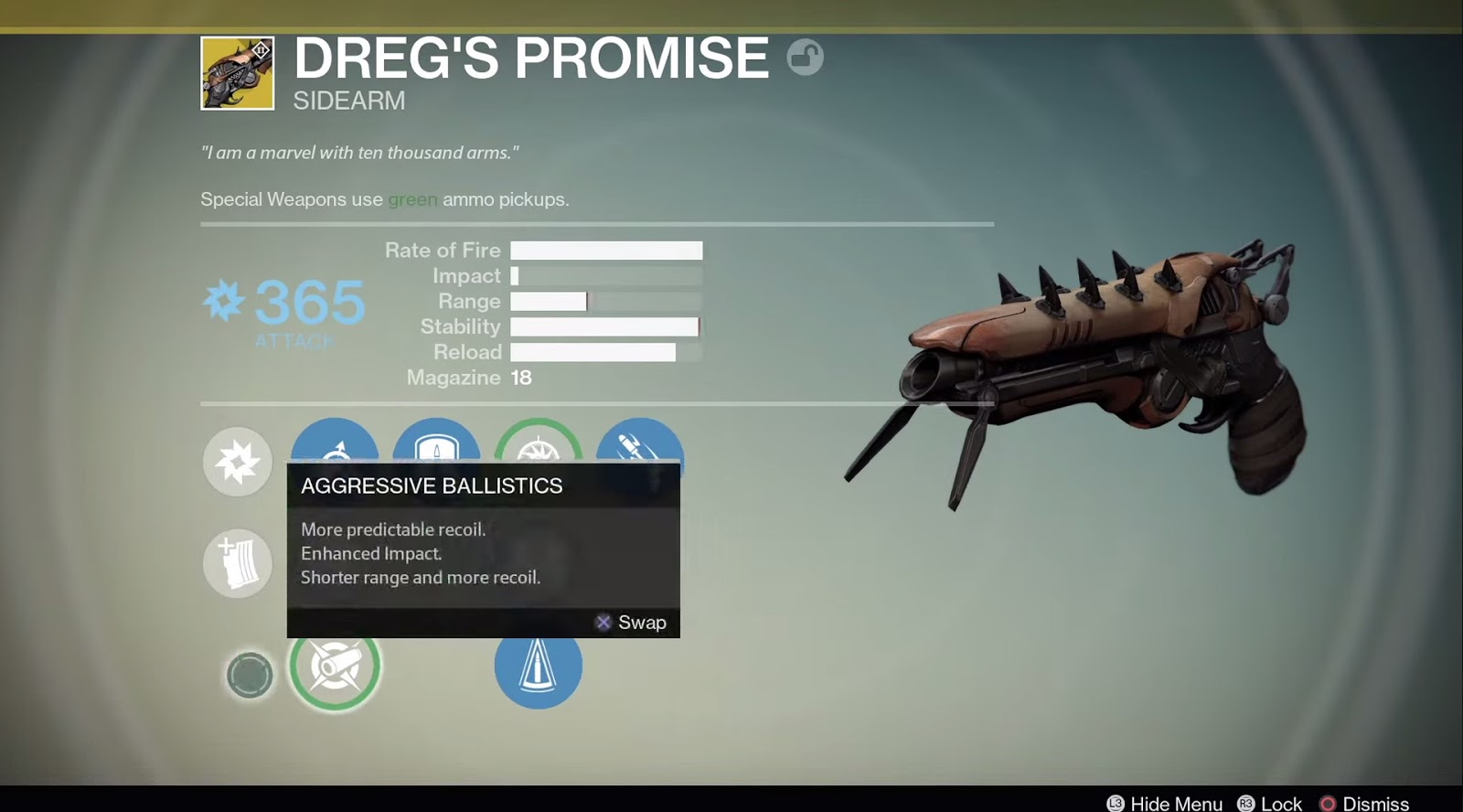 House of wolves which new exotic weapon should you choose drm