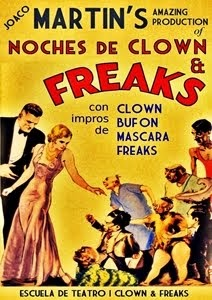 NOCHES DE CLOWN & FREAKS / Impros de Clown, Bufón, Máscara y Freaks // 4ª Temporada