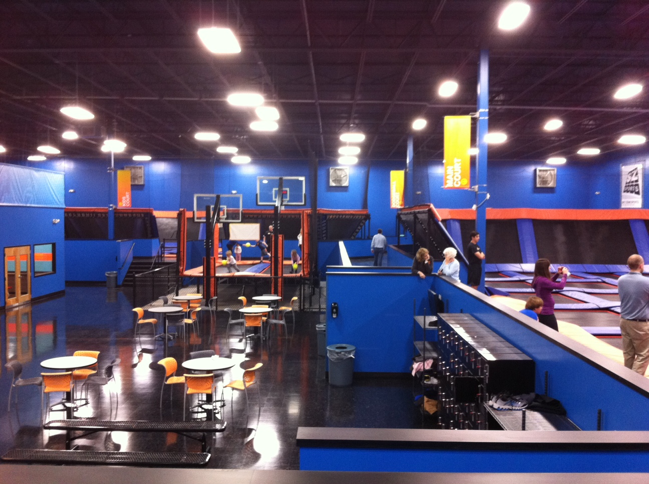 sky zone birthday